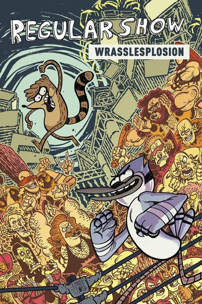 Regular Show Original GN Vol. 04 Wrasslesplosion