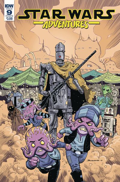 Star Wars Adventures #9 (Cover B - Brokenshire)