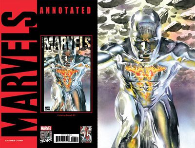 Marvels Annotated #3 (of 4) (Alex Ross Virgin Variant)