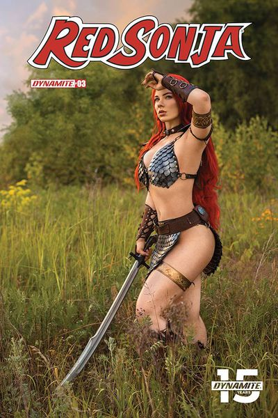 Red Sonja #3 (Cover E - Cosplay)