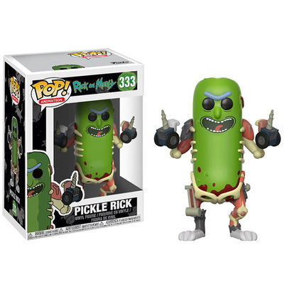 Pop Animation Rick & Morty - Pickle Rick Vinyl Figure