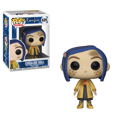 Pop Movies: Coraline : Coraline as a Doll