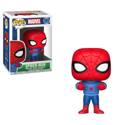 Pop Marvel Holiday - Spider-man w/ Ugly Sweater