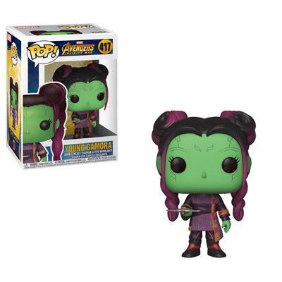 Pop Marvel Infinity War - Young Gamora w/ Dagger
