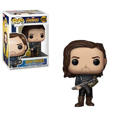 Pop Marvel Infinity War - Bucky W/ Weapon