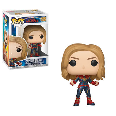 Pop Marvel: Captain Marvel- Captain Marvel