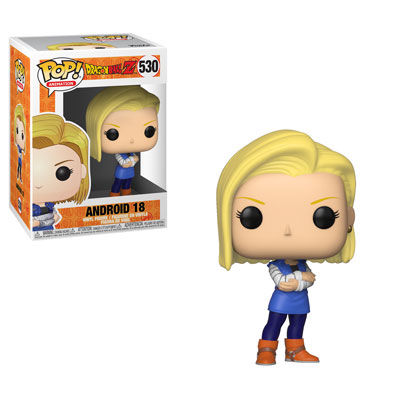 Pop Animation: DBZ - Android 18