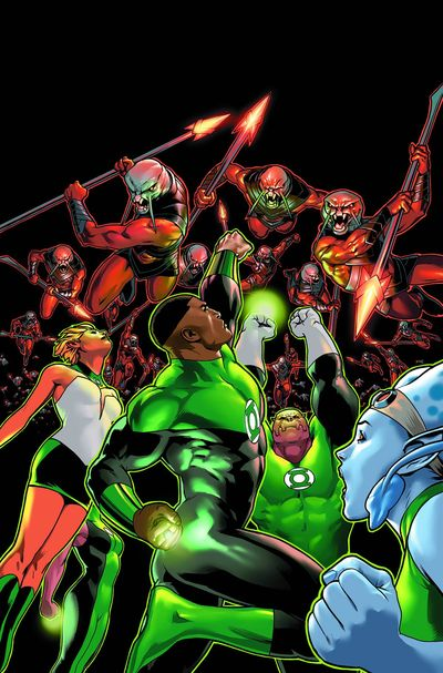 Green Lantern Corps the Lost Army TPB