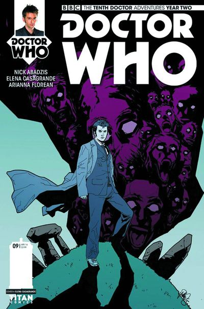 Doctor Who 10th Year 2 #9 (Cover A - Casagrande)