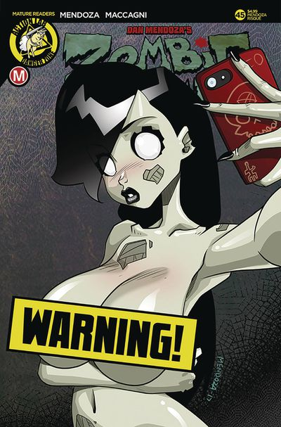Zombie Tramp Ongoing #45 (Cover F - Mendoza Risque)