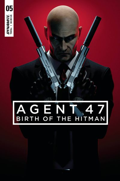 Agent 47 Birth of Hitman #5 (Cover B - Gameplay)
