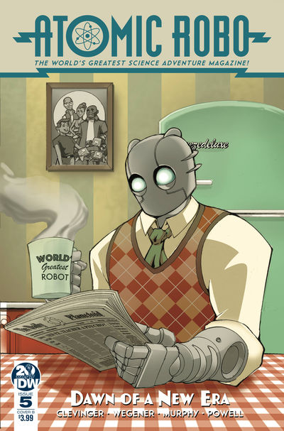 Atomic Robo & Dawn of New Era #5 (of 5) (Cover B - Griffith)