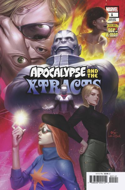 Age of X-man Apocalypse and X-tracts #1 (of 5) Inhyuk Lee Co