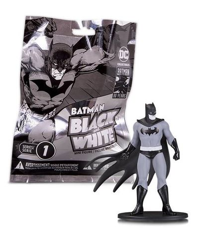 Batman Black & White Mini Figures Blind Bags Wave 1
