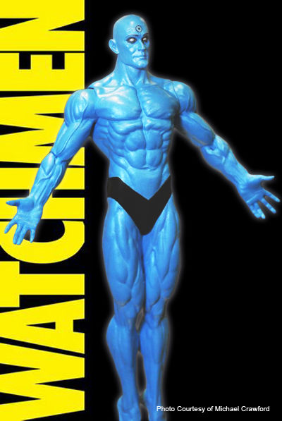 Watchmen Movie Dr Manhattan Action Figure