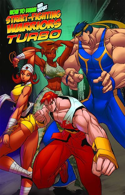 How To Draw Street Fighter Warriors Turbo TPB