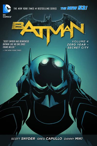Batman Vol. 4 TPB Cover