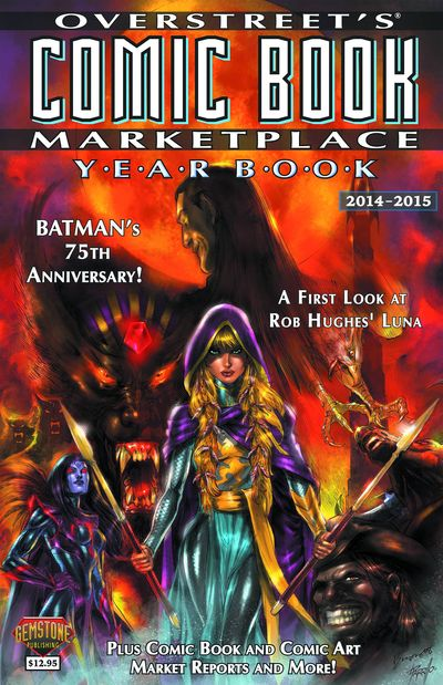 Overstreet Comic Book Marketplace Yearbook 2014 Luna by Buzz Cover