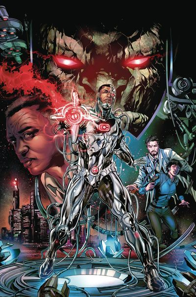 Cyborg comics at TFAW.com