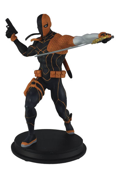 DC Comics Rebirth Deathstroke Previews Exclusive Statue