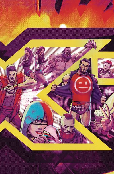 WWE Nxt Takeover Into the Fire #1 (Subscription Dalfonso Variant)