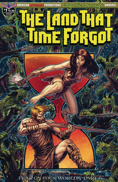 Land That Time Forgot #1 Fear on Four Worlds Timeless Cover