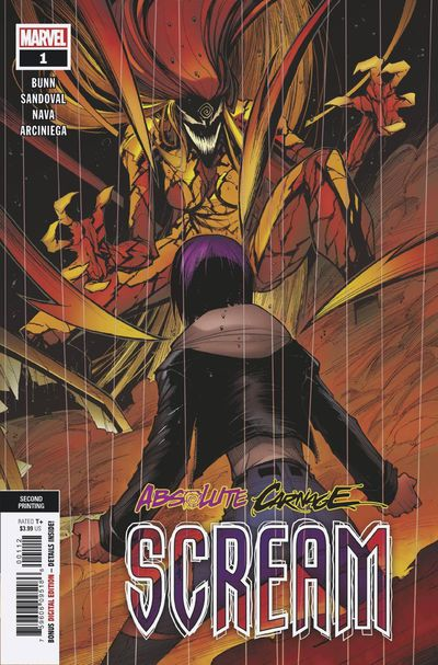 Absolute Carnage Scream #1 (2nd printing)
