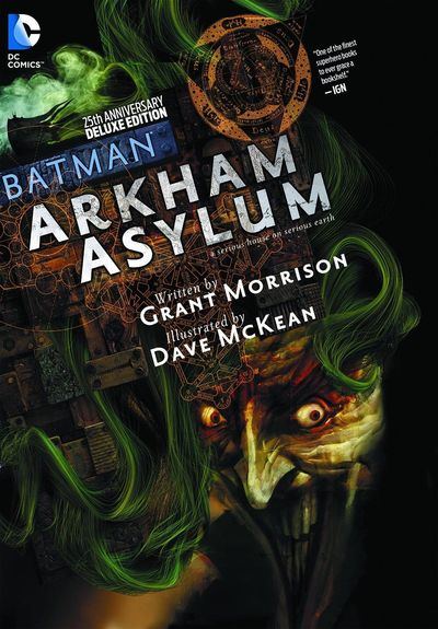 Batman: Arkham Asylum Cover