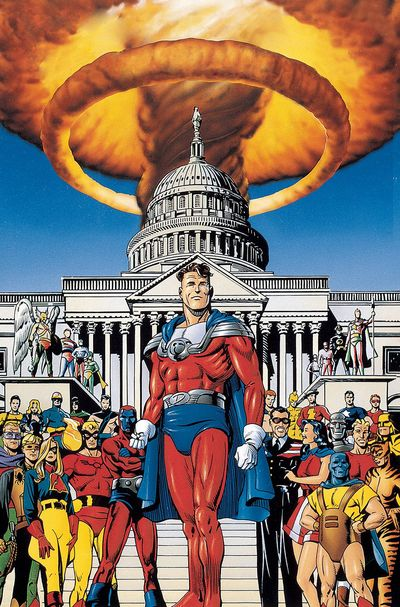 JSA: The Golden Age Cover