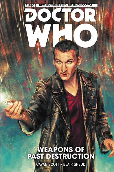 Doctor Who – 9th Doctor Vol. 1: Weapons of Past Destruction Cover