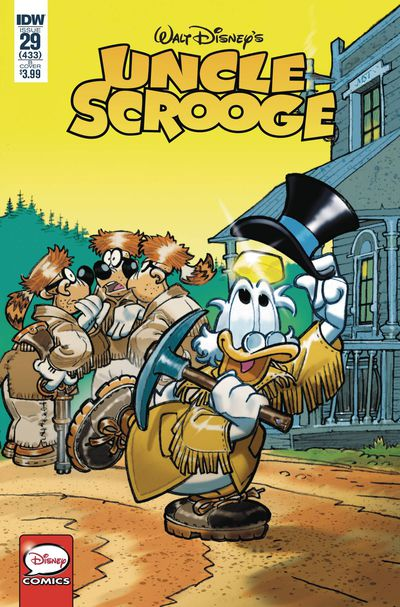 Uncle Scrooge #29 (Cover B - Mastantuono)