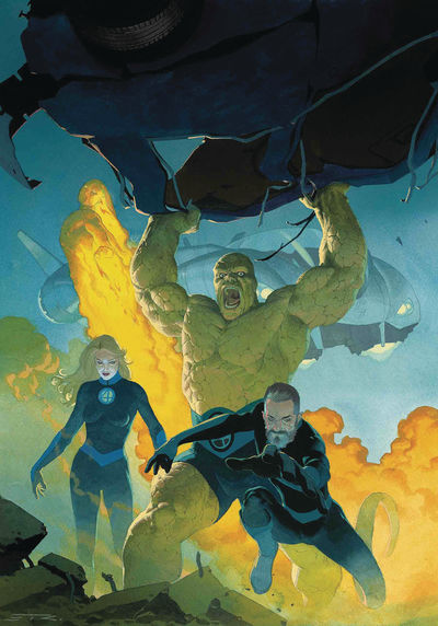 Fantastic Four returning to Marvel Comics August 2018 Jun180762