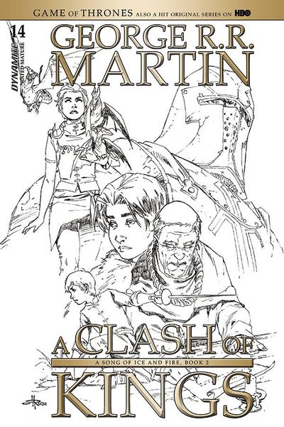 Game of Thrones Clash of Kings #14 (Cover D -  Retailer 15 Copy Incentive Variant)