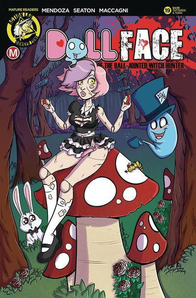 Dollface #19 (Cover D - Gransaull Pin Up Tattered & Torn)