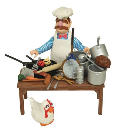 Muppets Swedish Chef Deluxe Figure Set
