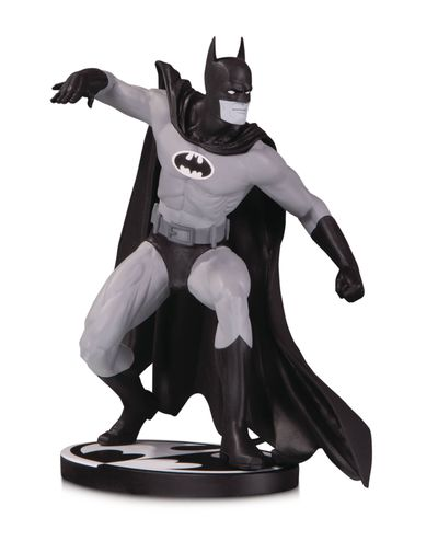 Batman Black & White Statue by Gene Colan