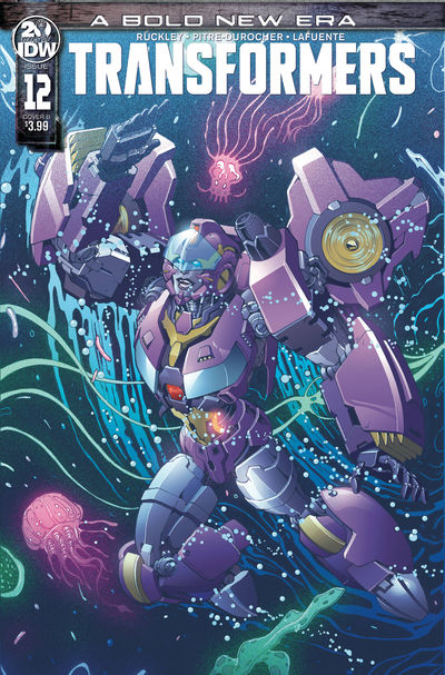 Transformers #12 (Cover B - Griffith)