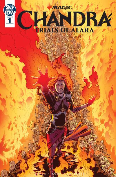 Magic the Gathering Chandra Trials of Alara #1 (of 4) Cover A