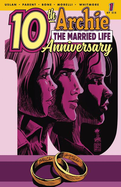 Archie Married Life 10 Years Later #1 (Cover C - Francavilla)