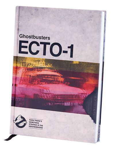 Ghostbusters Ecto-1 Vhs HC Journal