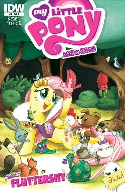 My Little Pony Micro Series #4 (of 6) Fluttershy