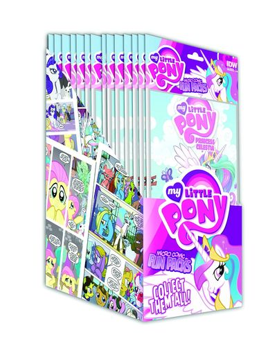 My Little Pony Micro Comic Fun Pack Series 2 Display