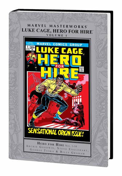 Marvel Masterworks Luke Cage Hero For Hire HC Vol. 01