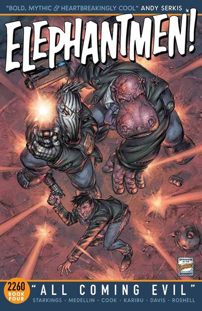 Elephantmen 2260 TPB Book 04 All Coming Evil