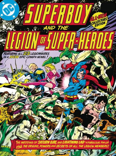 Superboy and the Legion of Superheroes HC Vol. 01