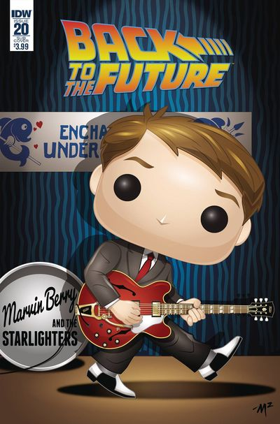 Back to the Future #20 (Funko Art Cover)