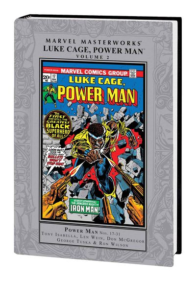 Marvel Masterworks: Luke Cage, Power Man Vol. 02 HC