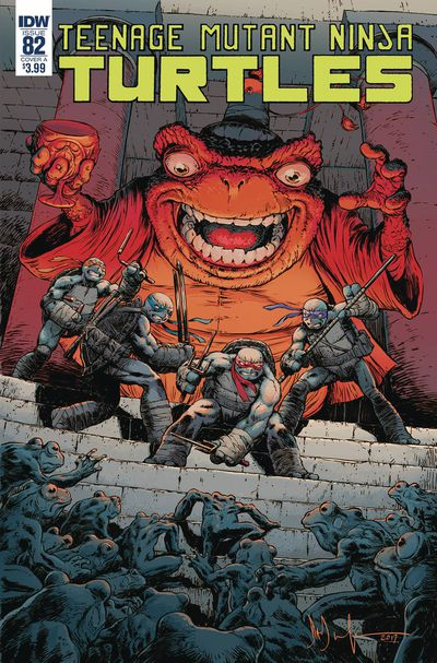 Teenage Mutant Ninja Turtles Ongoing #82 (Cover A - Wachter)