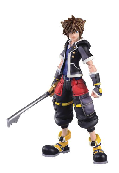 Kingdom Hearts 3 Sora 2nd Form Bring Arts 6in Previews Exclusive Action Figure