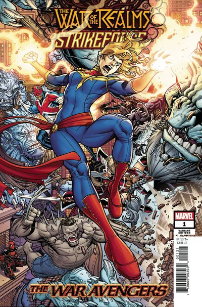 War of Realms Strikeforce War Avengers #1 (Bradshaw Variant)